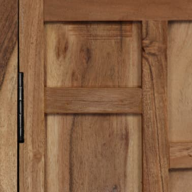 vidaXL Komoda, masyvi akacijos medienos, 60x35x76cm, ruda[5/16]