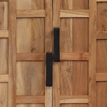 vidaXL Komoda, masyvi akacijos medienos, 60x35x76cm, ruda[6/16]