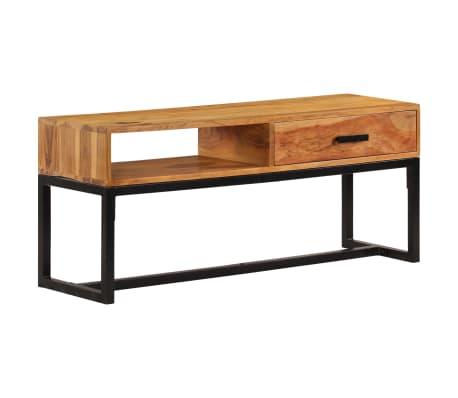 vidaXL Szafka z litego drewna akacjowego, 110 x 30 x 45 cm