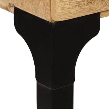 vidaXL Rašomasis stalas, mango medienos masyvas, 120x50x76cm[7/14]