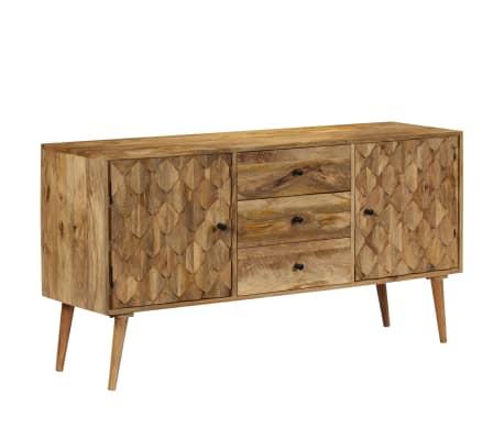 vidaXL Szafka z litego drewna mango, 145 x 40 x 75 cm