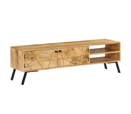 vidaXL Tv-meubel 140x30x40 cm massief mangohout[15/15]