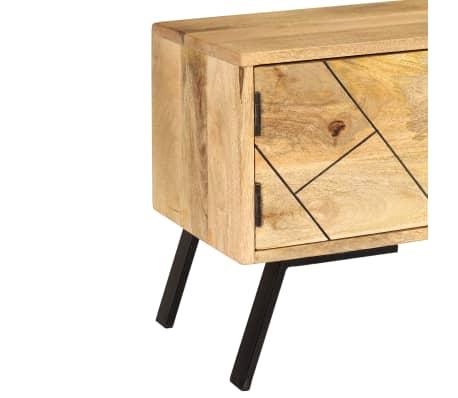 vidaXL Tv-meubel 140x30x40 cm massief mangohout[7/15]