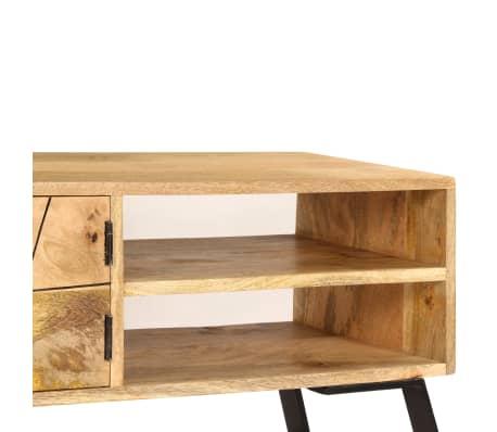 vidaXL Tv-meubel 140x30x40 cm massief mangohout[8/15]