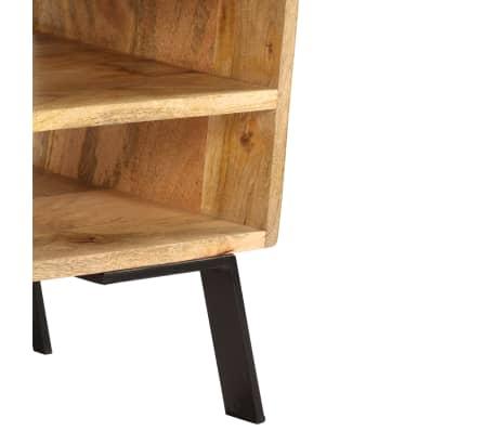 vidaXL Tv-meubel 140x30x40 cm massief mangohout[10/15]