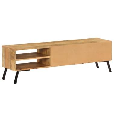 vidaXL Tv-meubel 140x30x40 cm massief mangohout[5/15]
