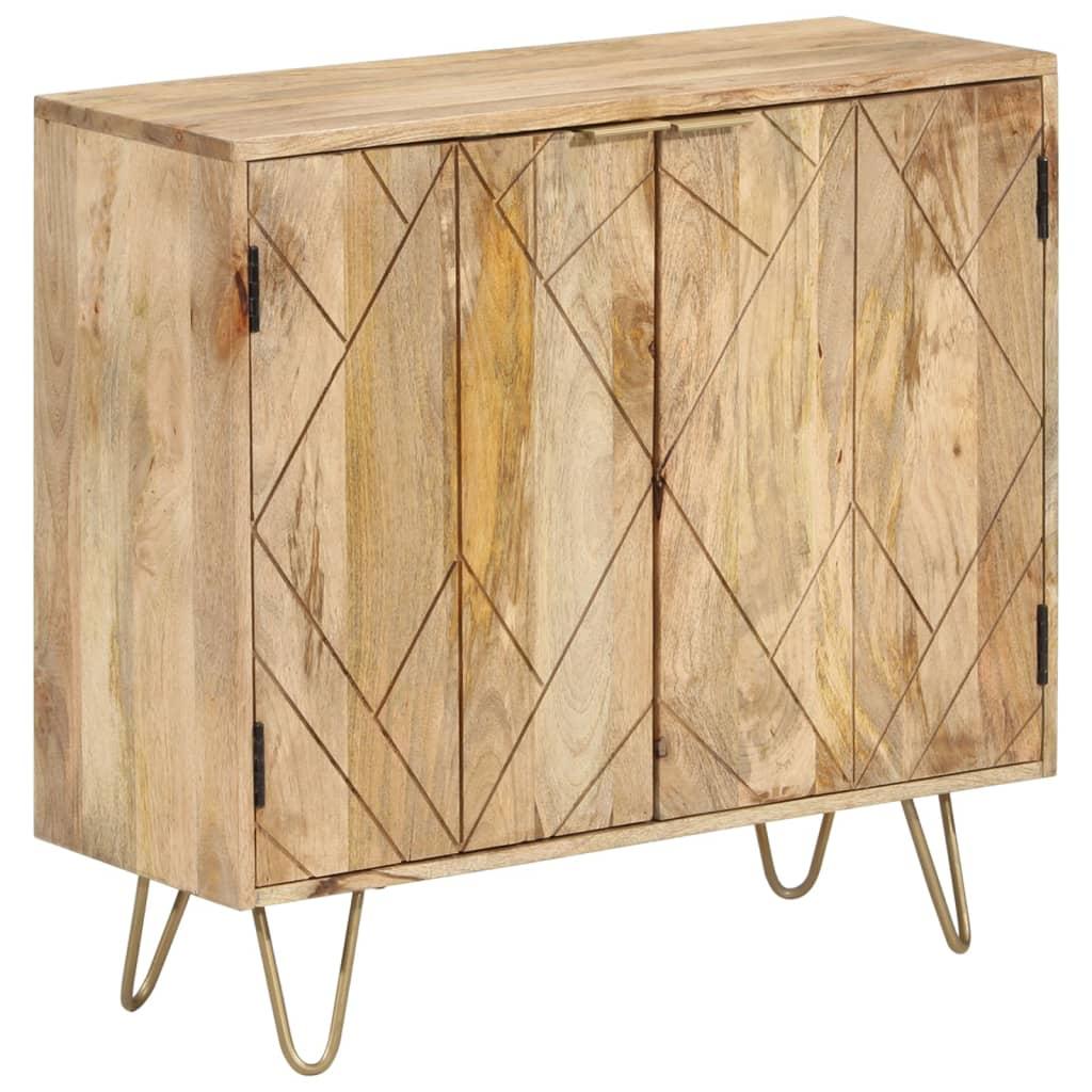 vidaXL Příborník z masivního mangovníkového dřeva 80 x 30 x 75 cm