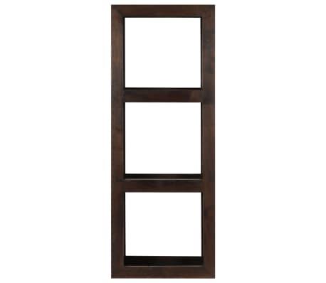 vidaXL Armoire console 40 x 30 x 110 cm Bois d'acacia massif[2/13]