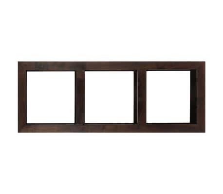 vidaXL Armoire console 40 x 30 x 110 cm Bois d'acacia massif[4/13]
