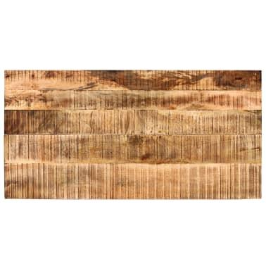 vidaXL Table de bar Bois de manguier 60x120x107 cm Rouge Tracteur[7/16]