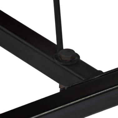 vidaXL Table de bar Bois de manguier 60x120x107 cm Rouge Tracteur[10/16]