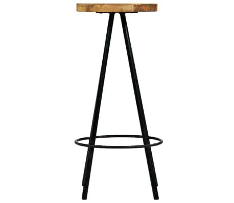 vidaXL Barski stoli 4 kosi trden mangov les 30x30x76 cm[3/12]
