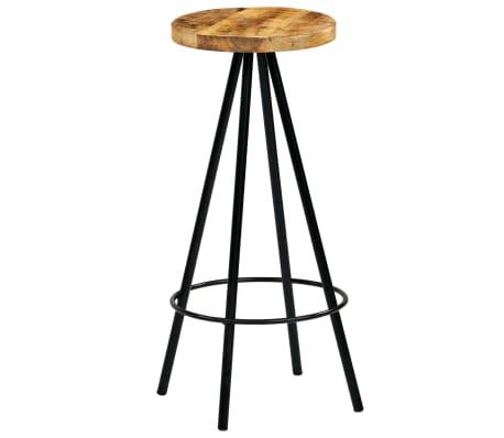 vidaXL Barski stoli 4 kosi trden mangov les 30x30x76 cm[4/12]