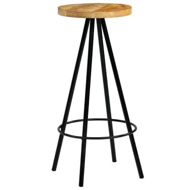 vidaXL Barski stoli 4 kosi trden mangov les 30x30x76 cm[8/12]