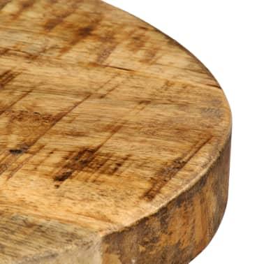 vidaXL 3-dijelni barski set od masivnog drva manga 60 x 60 x 107 cm[11/14]