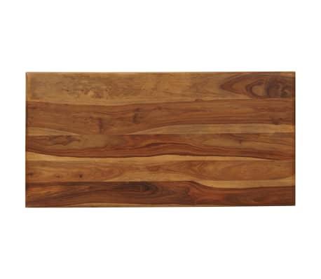 Sheesham in legno massello mobili OLEATO Tavolo da pranzo 160X90 mobili in legno massello in legno massello marrone naturale marrone #814