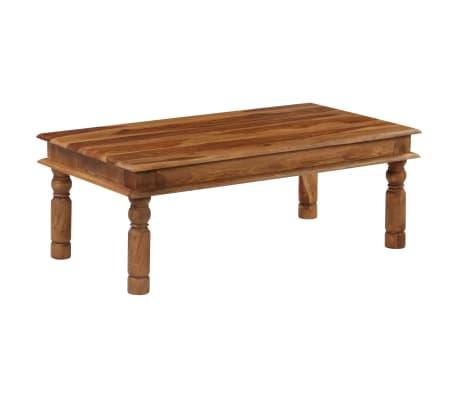 vidaXL Konferenční stolek z masivního sheeshamu 110 x 60 x 40 cm[1/9]