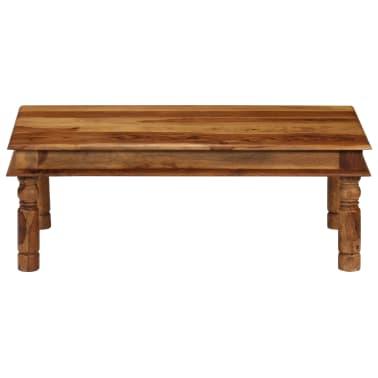 vidaXL Konferenční stolek z masivního sheeshamu 110 x 60 x 40 cm[2/9]