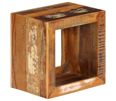 vidaXL Taburetė, 40x30x40cm, perdirbtos medienos masyvas[11/14]