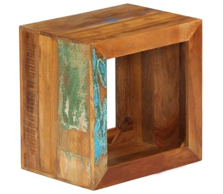 vidaXL Taburetė, 40x30x40cm, perdirbtos medienos masyvas[12/14]
