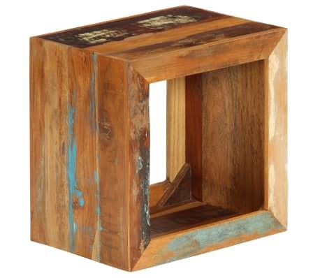 vidaXL Taburetė, 40x30x40cm, perdirbtos medienos masyvas[14/14]