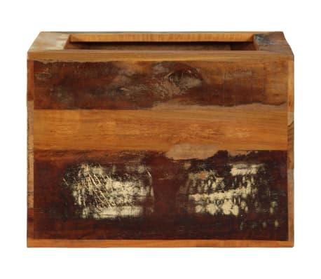 vidaXL Taburetė, 40x30x40cm, perdirbtos medienos masyvas[4/14]