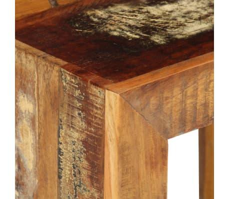 vidaXL Taburetė, 40x30x40cm, perdirbtos medienos masyvas[6/14]