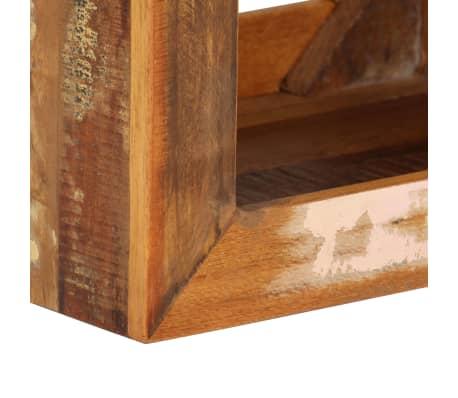vidaXL Taburetė, 40x30x40cm, perdirbtos medienos masyvas[7/14]