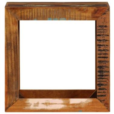 vidaXL Taburetė, 40x30x40cm, perdirbtos medienos masyvas[2/14]
