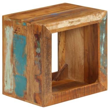 vidaXL Taburetė, 40x30x40cm, perdirbtos medienos masyvas[13/14]