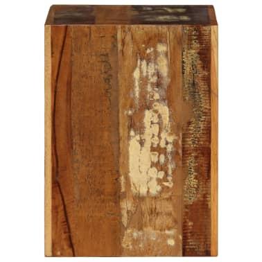 vidaXL Taburetė, 40x30x40cm, perdirbtos medienos masyvas[3/14]