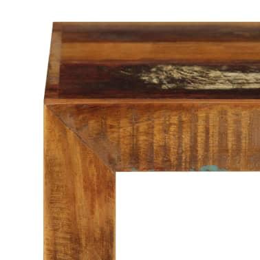 vidaXL Taburetė, 40x30x40cm, perdirbtos medienos masyvas[5/14]
