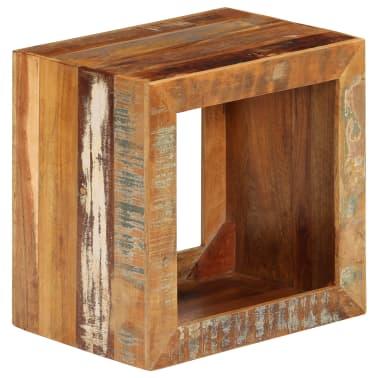 vidaXL Taburetė, 40x30x40cm, perdirbtos medienos masyvas[9/14]