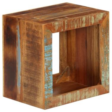 vidaXL Taburetė, 40x30x40cm, perdirbtos medienos masyvas[10/14]