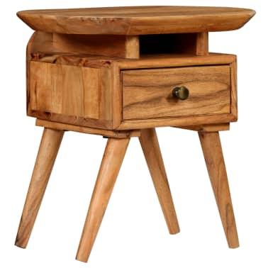 vidaXL Naktinis staliukas, 45x35x45cm, akacijos medienos masyvas[1/17]