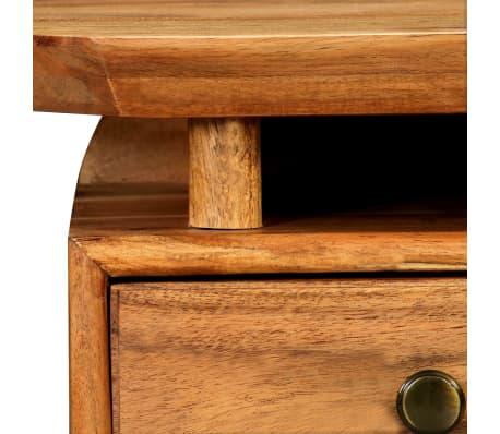 vidaXL Naktinis staliukas, 45x35x45cm, akacijos medienos masyvas[11/17]