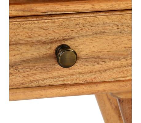 vidaXL Naktinis staliukas, 45x35x45cm, akacijos medienos masyvas[12/17]