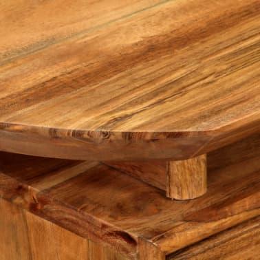 vidaXL Naktinis staliukas, 45x35x45cm, akacijos medienos masyvas[6/17]