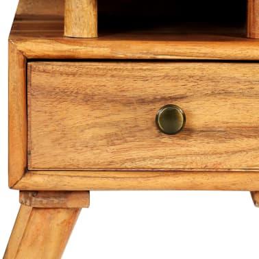 vidaXL Naktinis staliukas, 45x35x45cm, akacijos medienos masyvas[10/17]