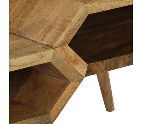 vidaXL Kavos staliukas, mango medienos masyvas, 104x50x45cm[3/16]