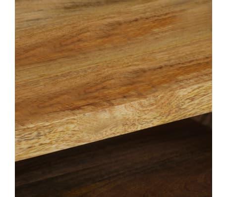vidaXL Kavos staliukas, mango medienos masyvas, 104x50x45cm[10/16]
