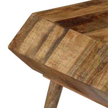 vidaXL Kavos staliukas, mango medienos masyvas, 104x50x45cm[4/16]