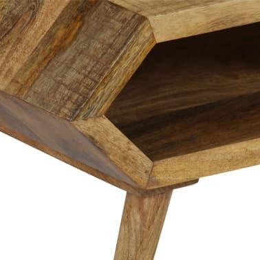 vidaXL Kavos staliukas, mango medienos masyvas, 104x50x45cm[5/16]