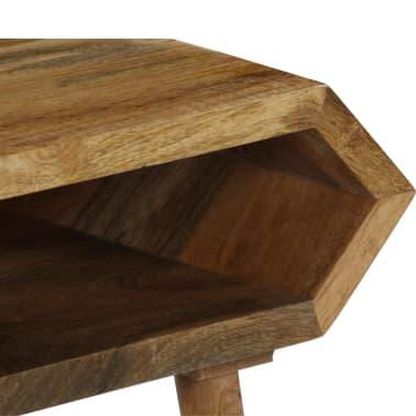 vidaXL Kavos staliukas, mango medienos masyvas, 104x50x45cm[7/16]