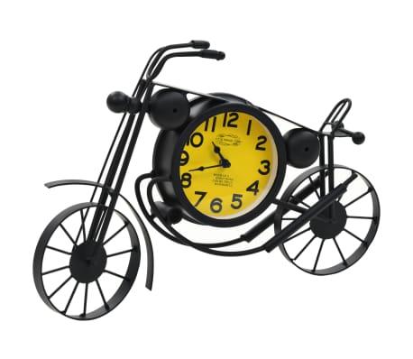 vidaXL Uhr Beidseitig Motorrad Nostalgie[2/6]