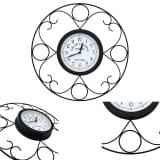 vidaXL Horloge murale de jardin Vintage 45 cm