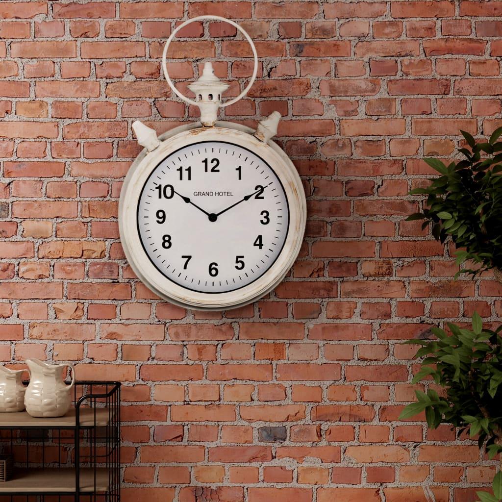 vidaXL Nástěnné hodiny vintage 30 cm