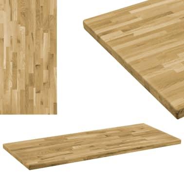 vidaXL Stalviršis, ąžuolo mediena, stač. form., 44mm, 140x60cm[1/5]