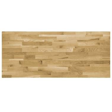 vidaXL Stalviršis, ąžuolo mediena, stač. form., 44mm, 140x60cm[3/5]