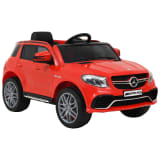 vidaXL Coche para niños Mercedes Benz GLE63S plástico rojo